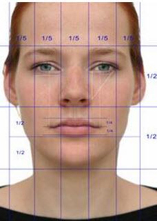 facial dimensions