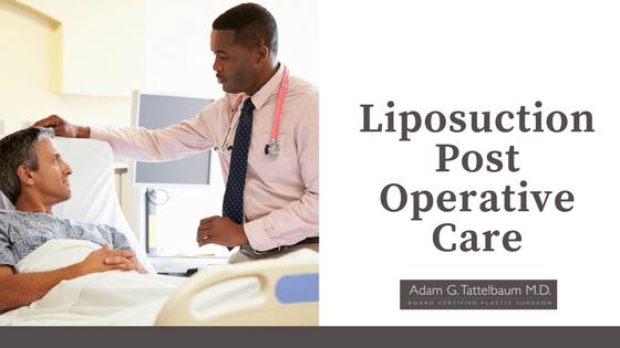 Liposuction Post Operative Care