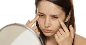 Under-eye fillers can slow the process of aging.