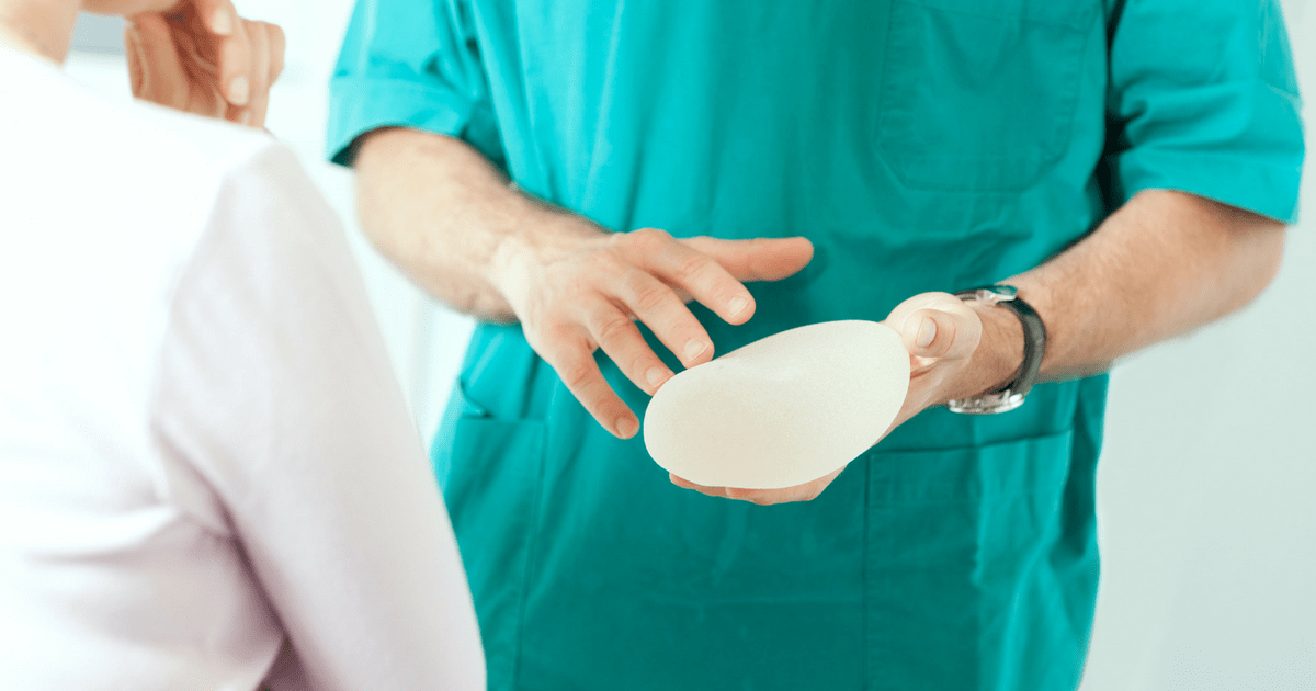 Breast augmentation breast implants